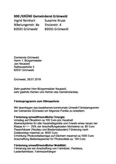 thumbnail of Förderprogramm Umwelt
